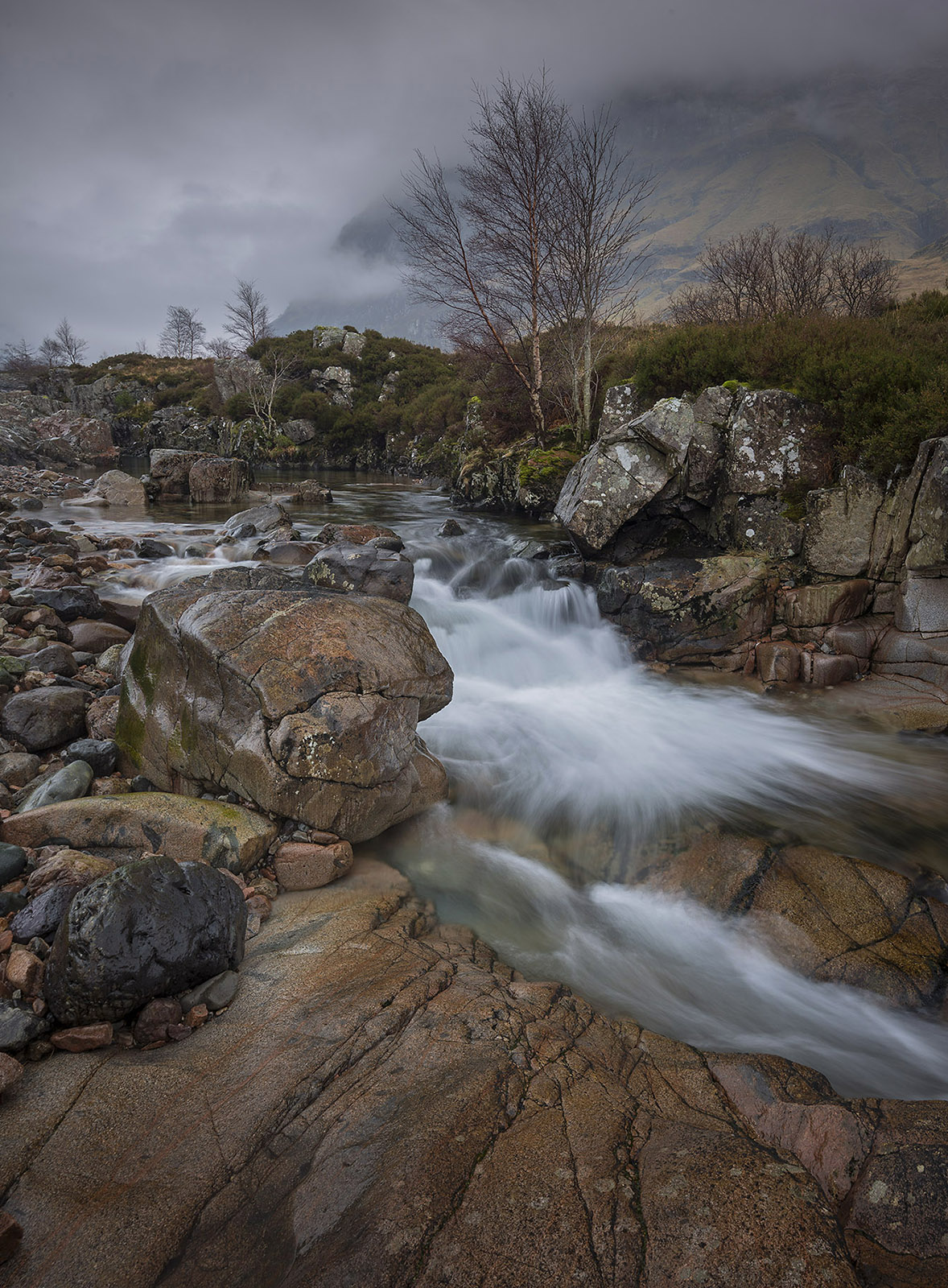 River Coe, Glencoe Scotland