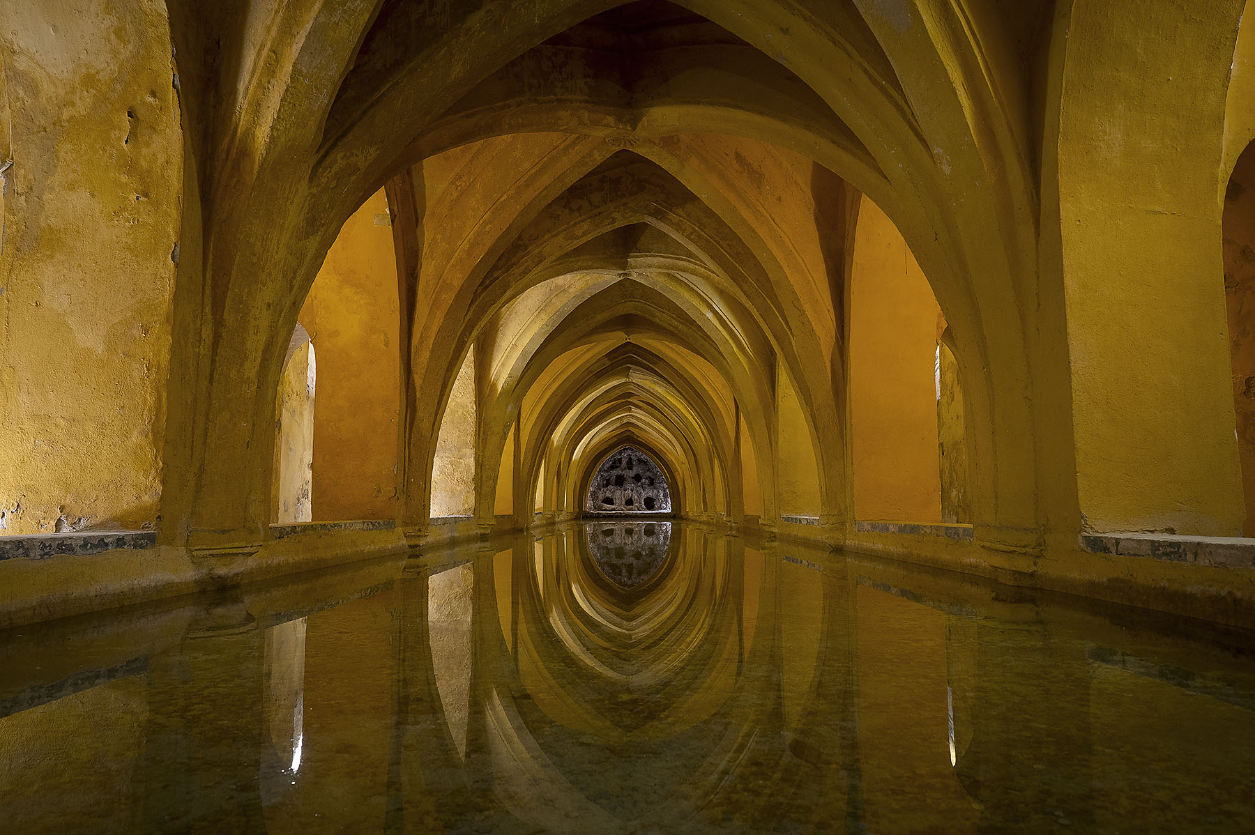 Alcazar baths Seville