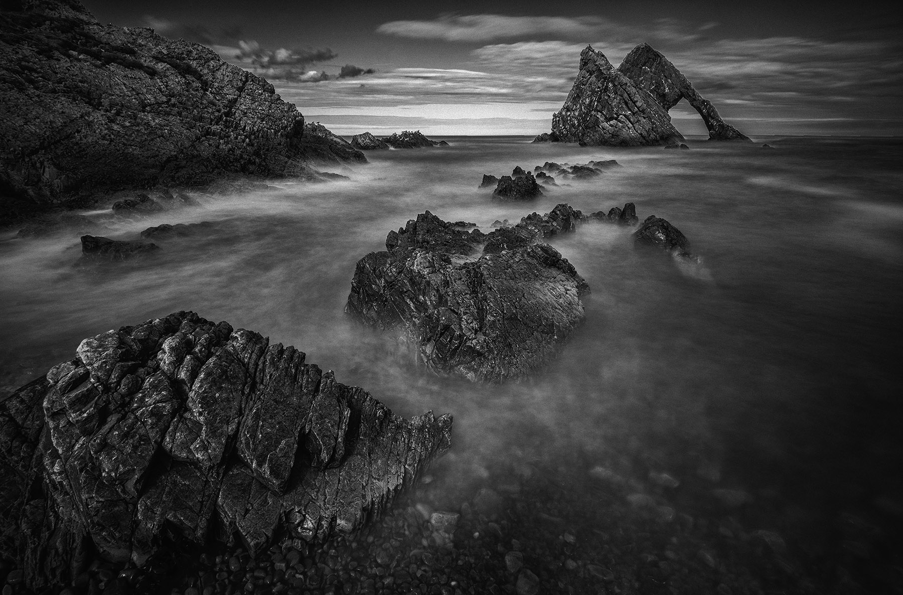 Bow Fiddle rock Scotland
