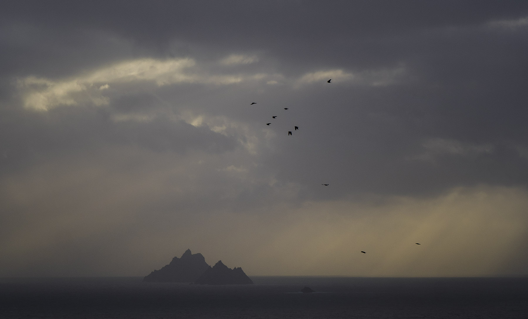Skellig Islands, County Kerry Ireland