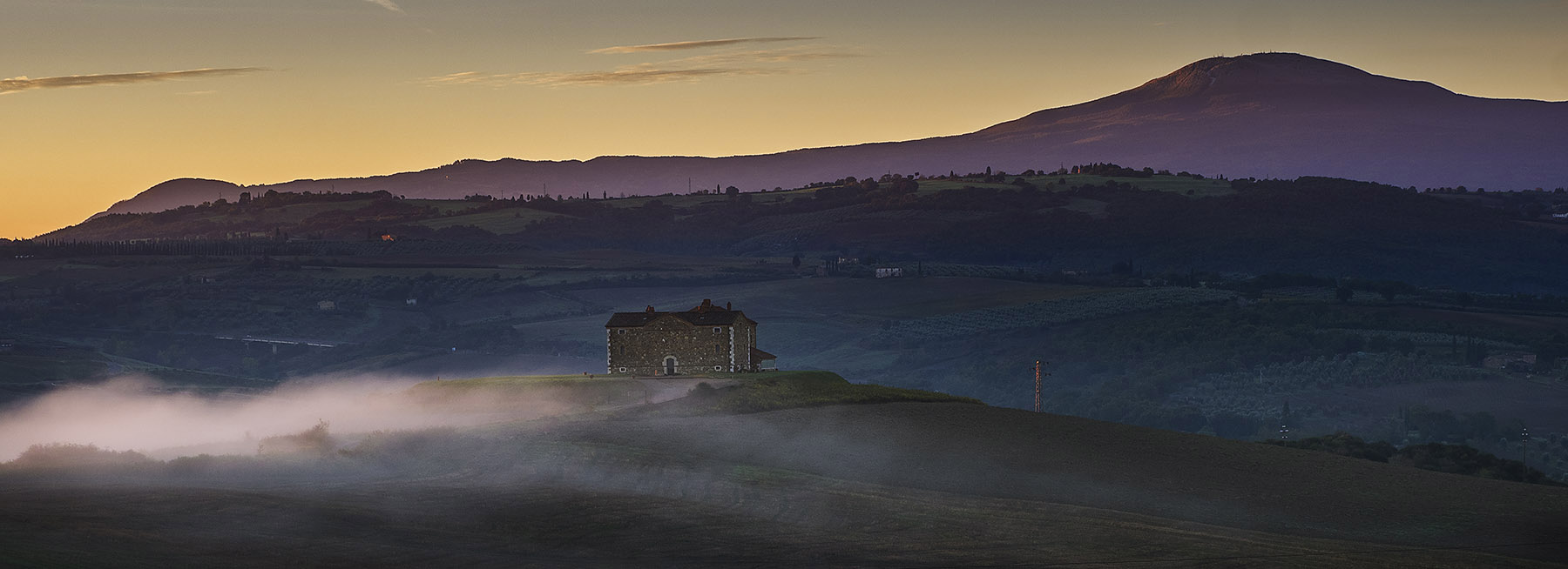 Misty Dawn - Tuscany
