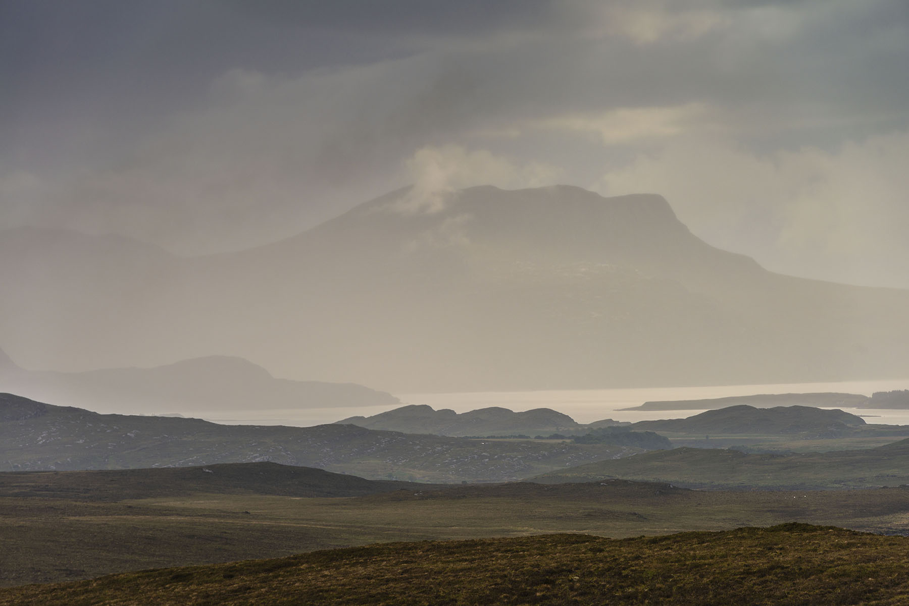 photography adventures Beinn Ghobhlach from Inverpolly Scotland