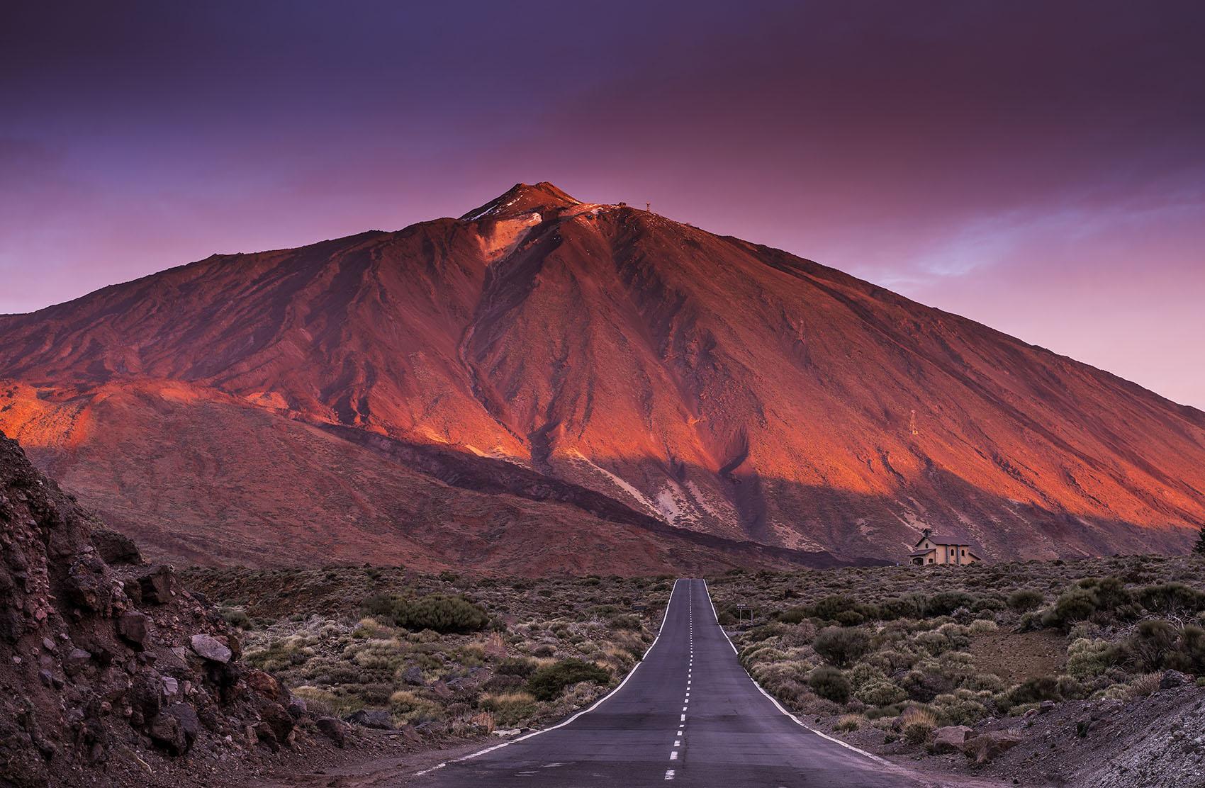 Dawn over Teide, Tenerife