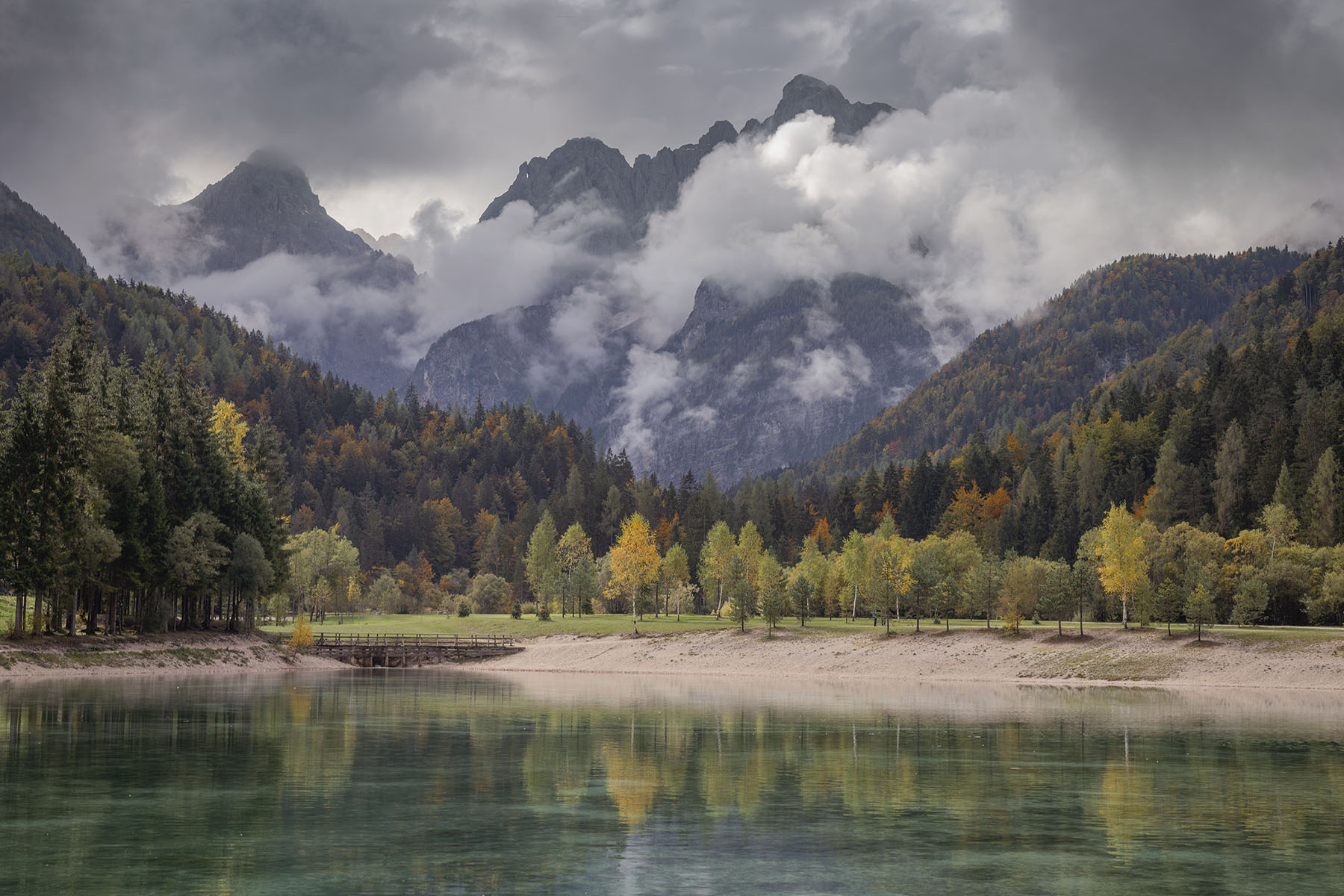 Jasna lake Slovenia