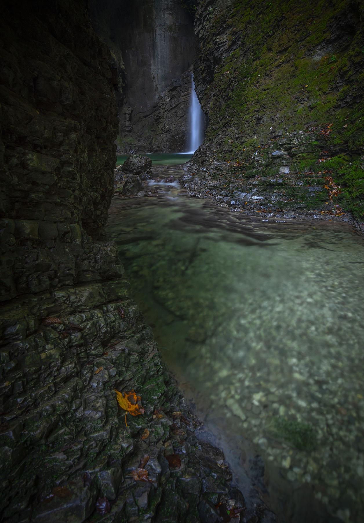 Kozjak falls Slovenia