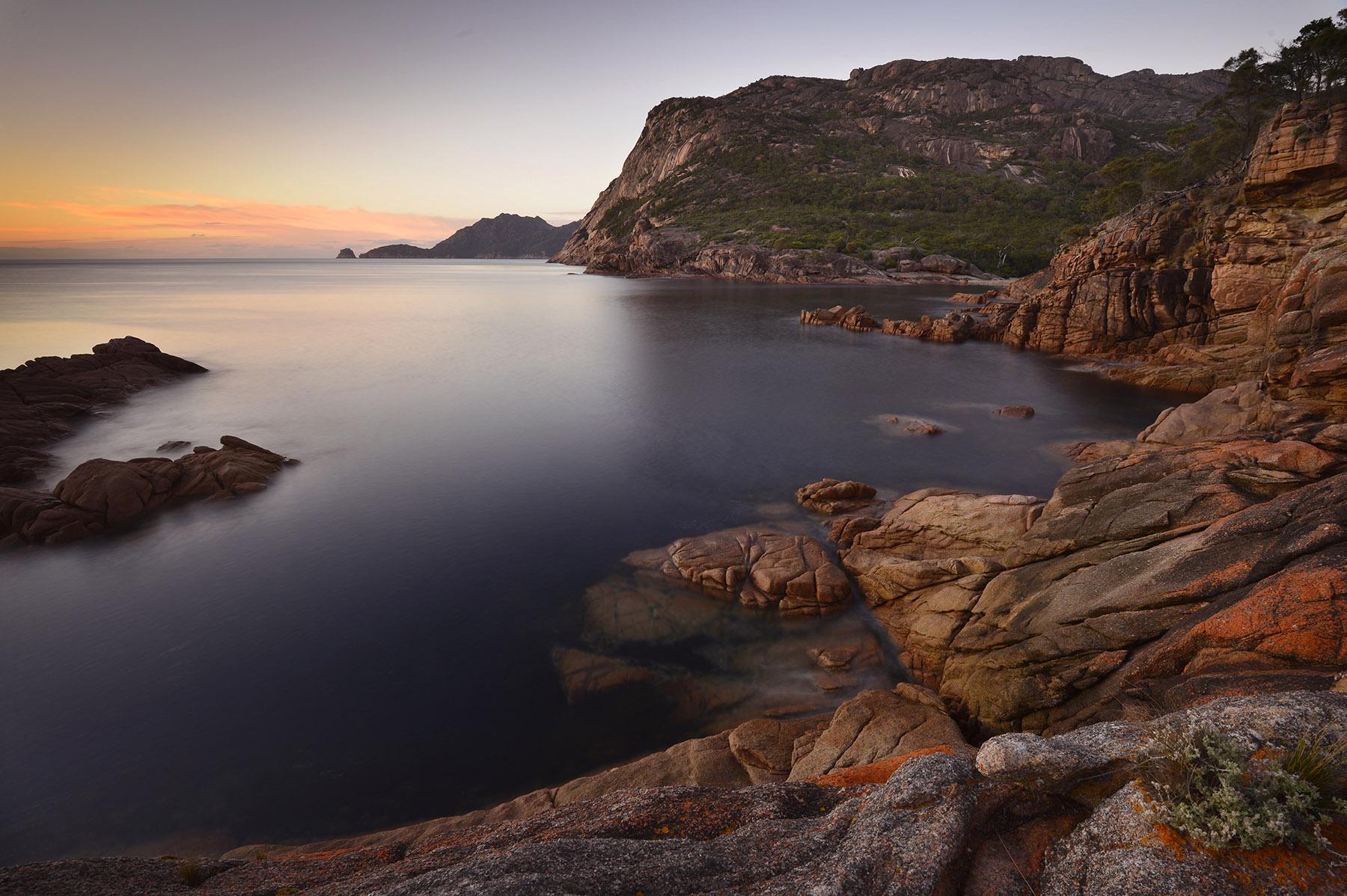 Sleepy bay, Tasmania