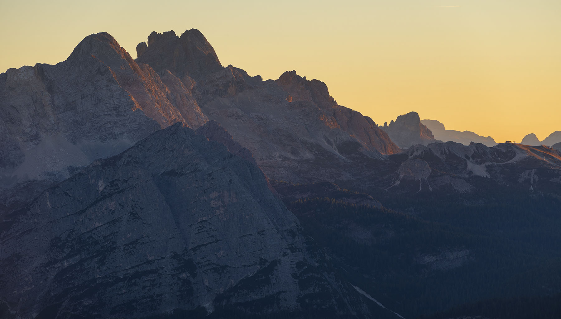 View From Cime Dolomites