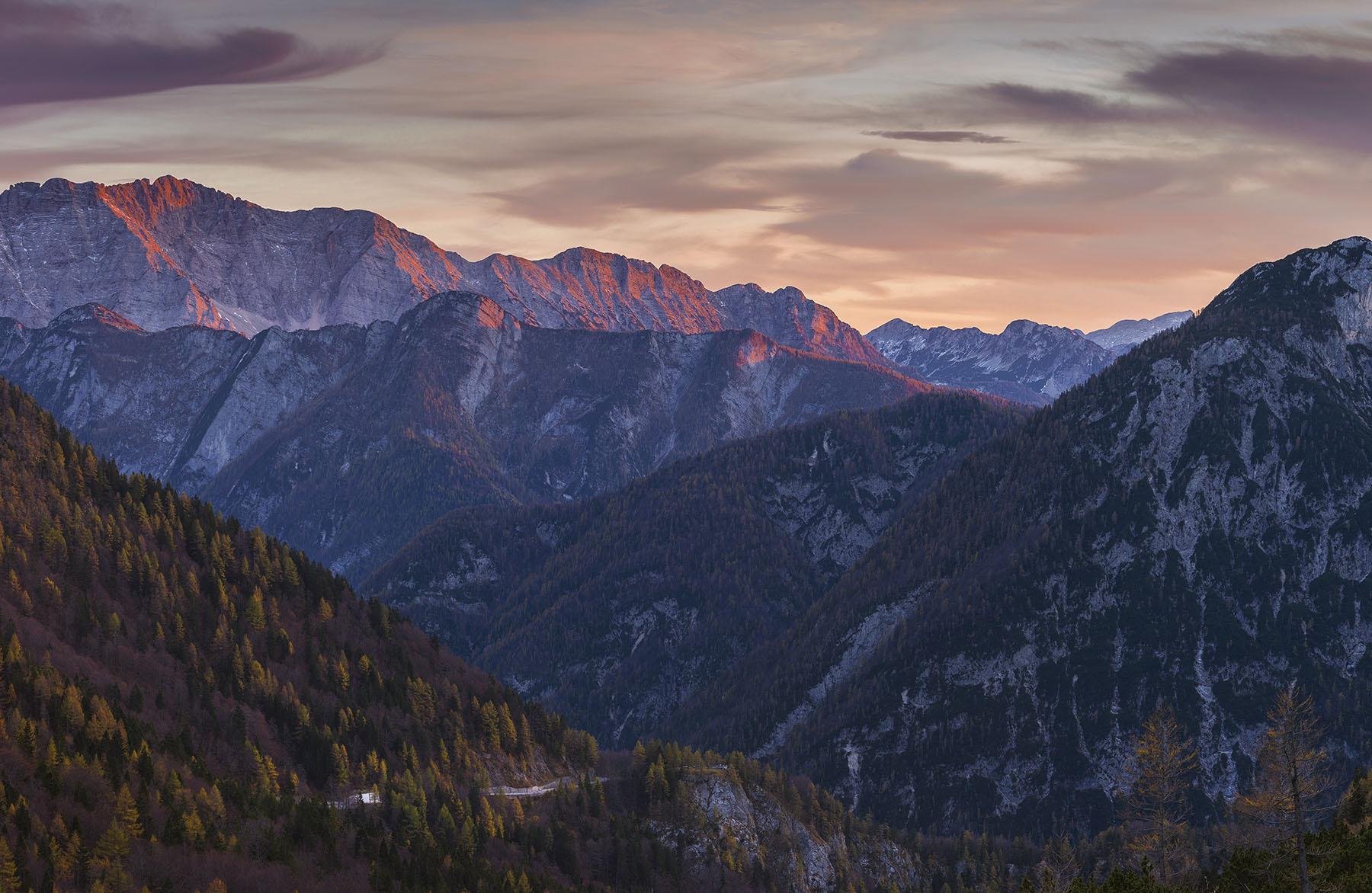 Vrsic Pass Slovenia